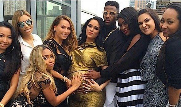 Rapper Fabolous & Emily B Host Roof Top Baby Shower: Victor Cruz, Adrienne Bailon, Amar'e Stoudemire Attend [Photos]