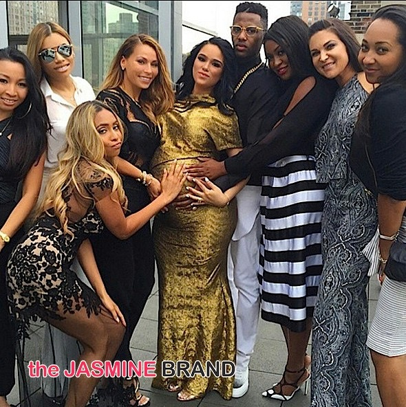 Rapper Fabolous & Emily B Host Roof Top Baby Shower: Victor Cruz, Adrienne Bailon, Amar'e Stoudemire Attend [Photos]