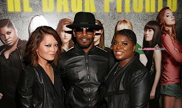 Jamie Foxx, Ester Dean, Laurieann Gibson Attend 'Pitch Perfect 2' Screening [Photos]