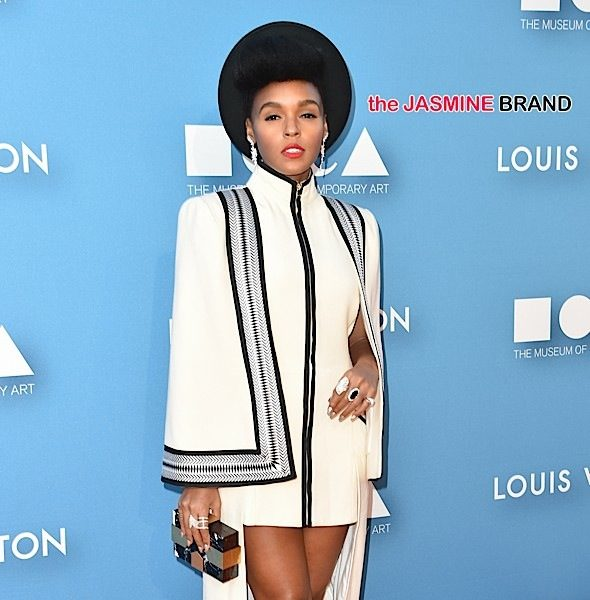Janelle Monae Attends The Museum of Contemporary Art Annual Gala Wearing Sass & Bide [Photos]