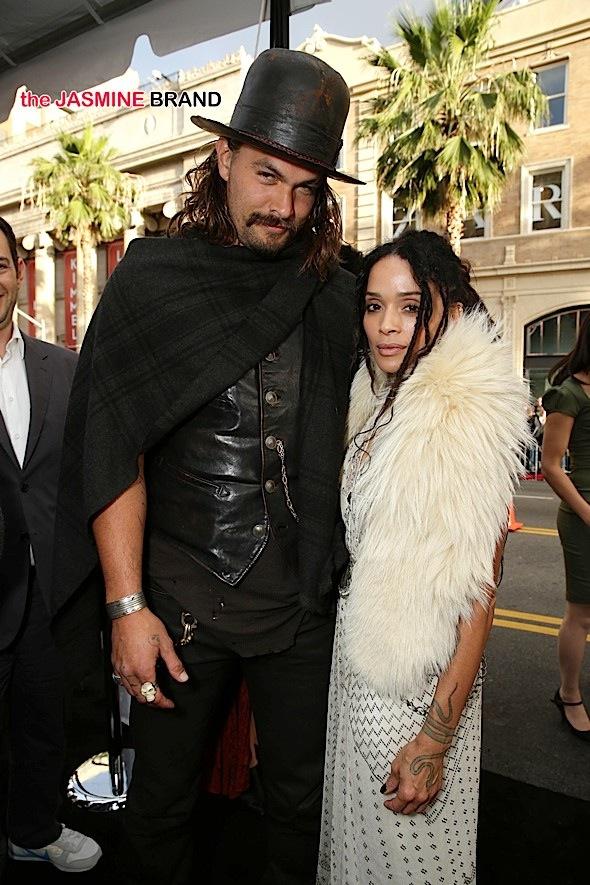 Celebrity Stalking Lisa Bonet Husband Jason Momoa Zoe
