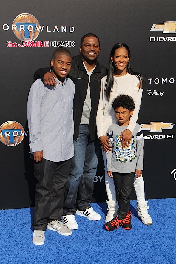 Mekhi Phifer and family