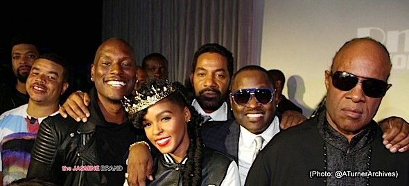 Tyrese, Janelle Monae, Johnny Gill, Stevie Wonder