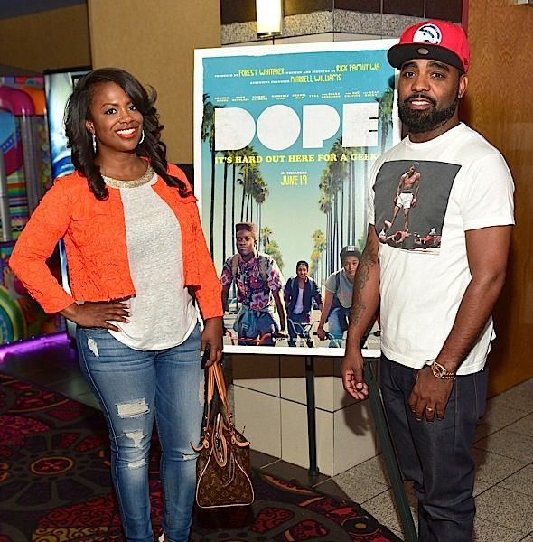 Kandi Burruss, Todd Tucker, Jasmine Burke Attend 'Dope' Screening [Photos]