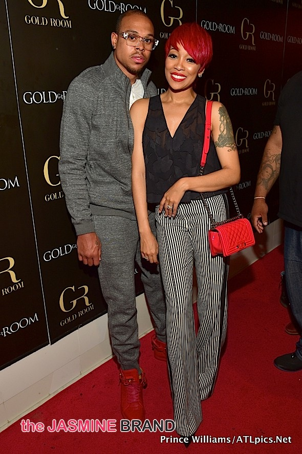 Shannon Brown, Monica