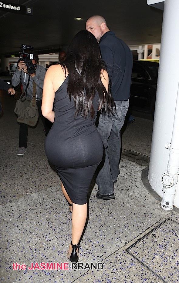 Kim Kardashian Sighted at LAX on May 12, 2015