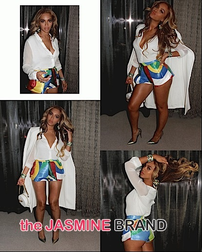 Look! Beyonce's Fashionable Las Vegas Weekend [Photos]