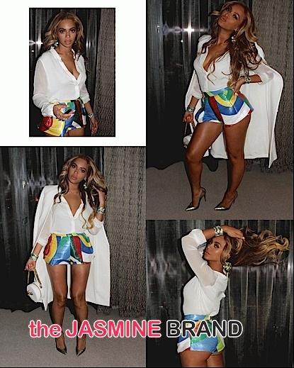 Look! Beyonce's Fashionable Las Vegas Weekend [Photos]
