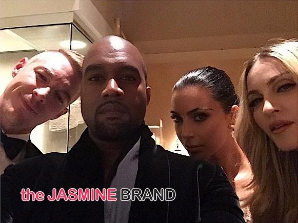 Kanye West, Kim Kardashian, Madonna