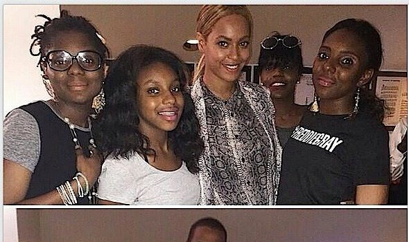 Beyonce & Jay Z Visit Mike Brown & Freddie Gray's Family at Baltimore Rally Concert [Photos]