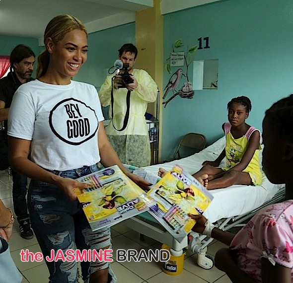 Bey Good! Beyonce Travels to Haiti to See Progress Made Since Earthquake [Photos]