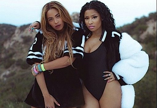 [Behind-the-Scenes] Nicki Minaj & Beyonce's 'Feeling Myself' Photos!