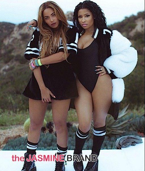 [Behind-the-Scenes] Nicki Minaj & Beyonce's 'Feeling Myself' Photos!