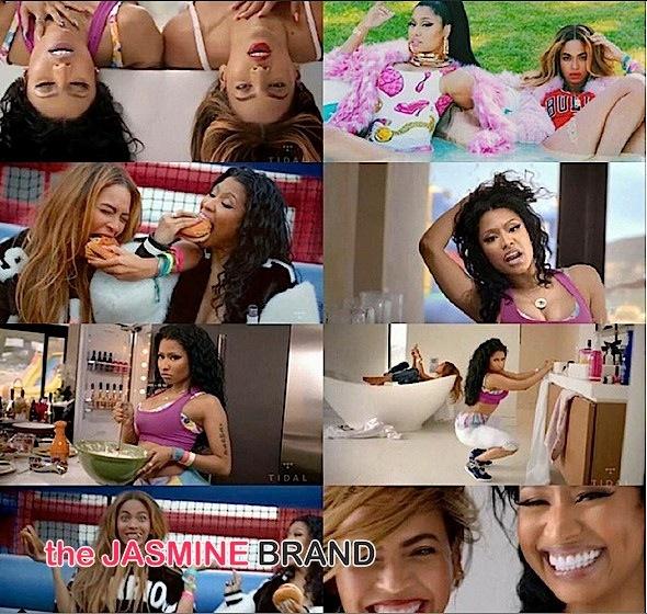 c2ca079be77 Nicki Minaj   Beyonce Release  Feeling Myself  Video on TIDAL  WATCH ...
