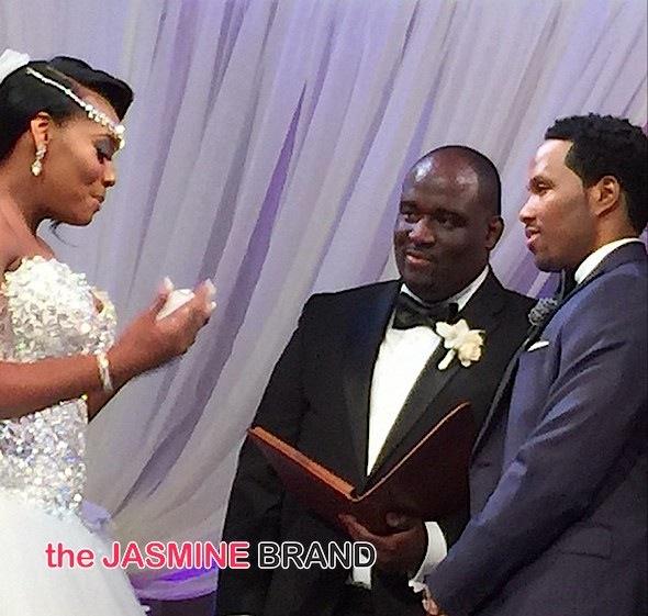 Yandy harris wedding