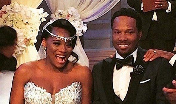 Love & Hip Hop's Yandy Smith & Mendeecees Harris Get Married! + Ray J, Kandi Burruss, Stevie J, Joseline Hernandez, K.Michelle & More Attend [Photos]