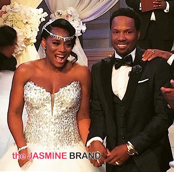 Love & Hip Hop's Yandy Smith & Mendeecees Harris Get Married! + Ray J, Kandi Burruss, Stevie J, Joseline Hernandez, K.Michelle & More Attend [Photos]