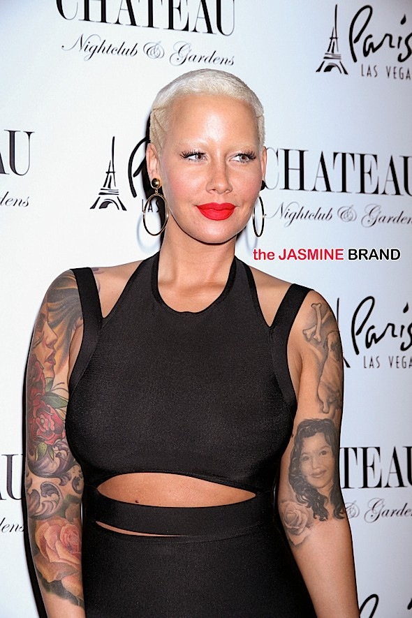 Amber Rose Hosts Memorial Day Kick-off at Chateau Nightclub in Las Vegas on May 22, 2015