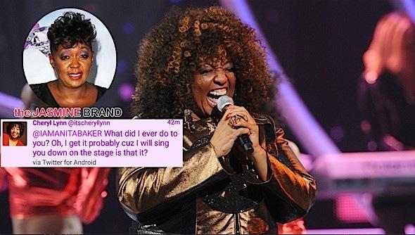 Anita Baker Slammed By Singer Cheryl Lynn [Old School Beef]