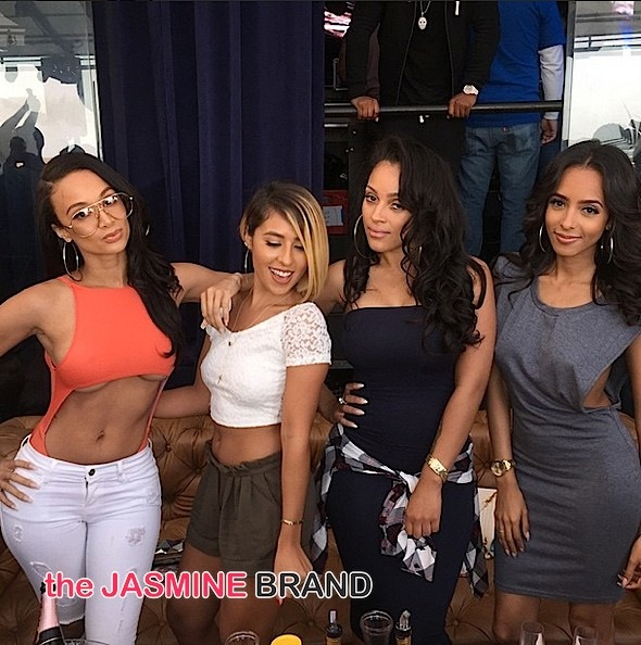 basketball wives la-draya michele day party fun-the jasmine brand