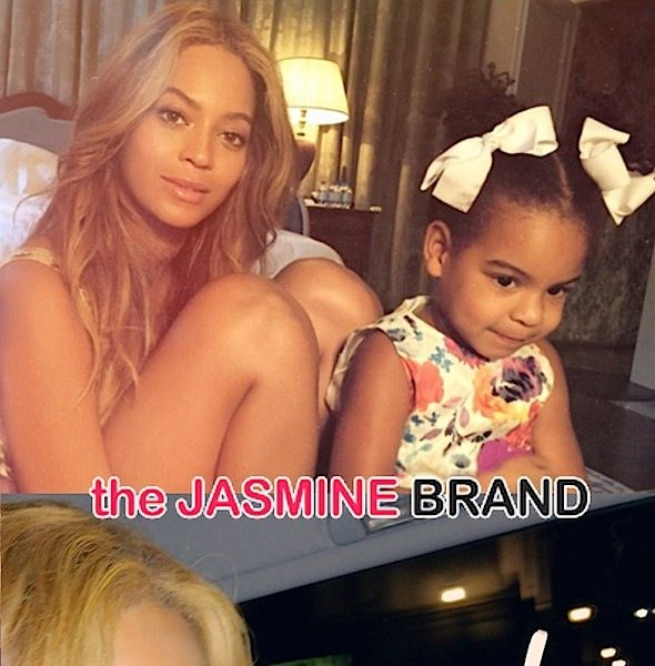 Beyonce Loves Blue Ivy, Pizza & Ice Cream [Photos]