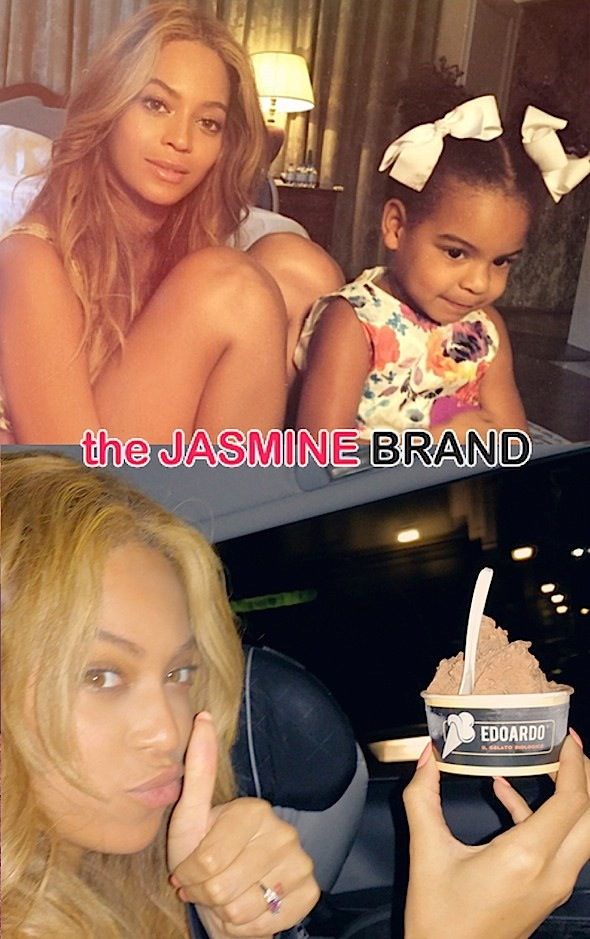 beyonce-blue ivy-ice cream-italy-the jasmine brand