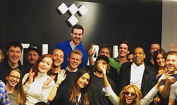 Jay Z & Beyonce Pop-Up At TIDAL's Norway Office [Photos]