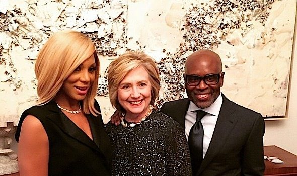 Beyonce & Tamar Braxton Attend Hillary Clinton's NYC Fundraiser + Lil Kim Returns to Reality TV [Photos]