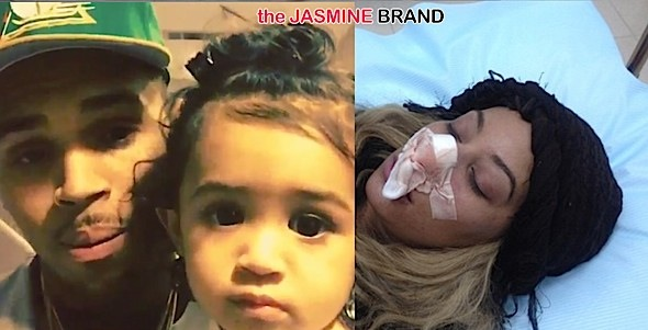 Chris Brown's Baby Mama Nia Guzman Says Singer Owes Child Support + Love & Hip Hop Hollywood's Hazel E Breaks Nose In ATV Accident