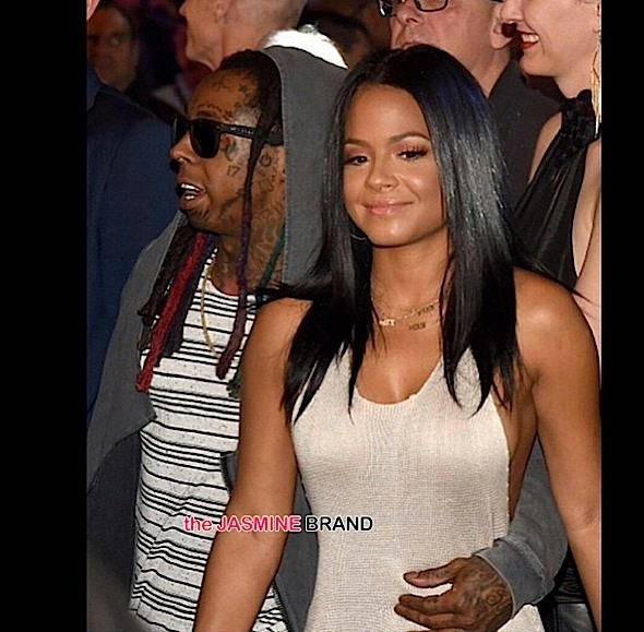 christina milian-lil wayne-floyd mayweather fight maypac 2015-the jasmine brand