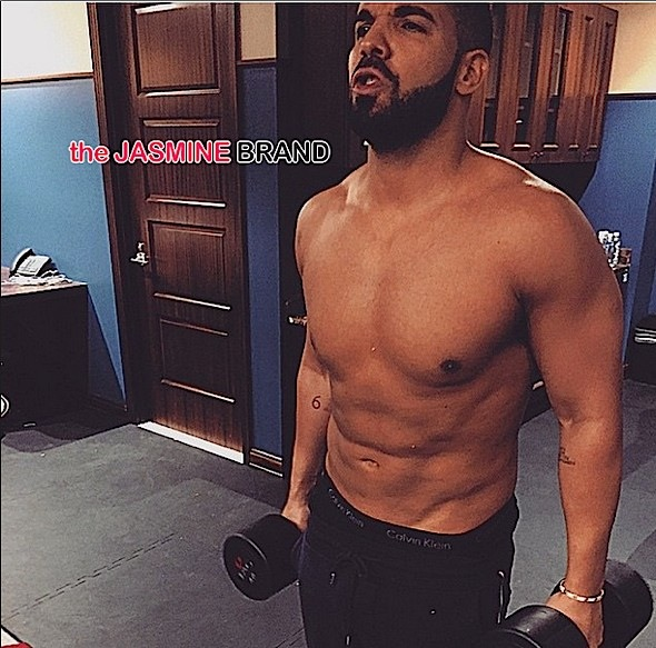 Drake Goes Topless, Lisa Raye & Laura Govan Chest-Naked in MIA, Kanye West Sits Court-Side + Tina Knowles, Richard Lawson, Gabrielle Union, Kelly Rowland [Photos]