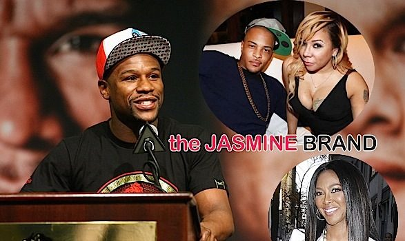 T.I. Makes Peace With Mayweather, Mike Tyson Shades Fight + Kenya Moore Hints She's Engaged!