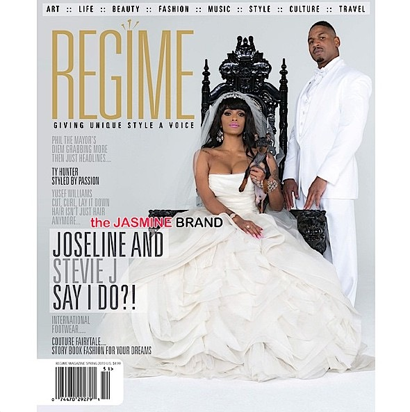 Stevie J & Joseline Hernandez Cover 'REGIME' In Wedding Attire + The Game Clowns Plies