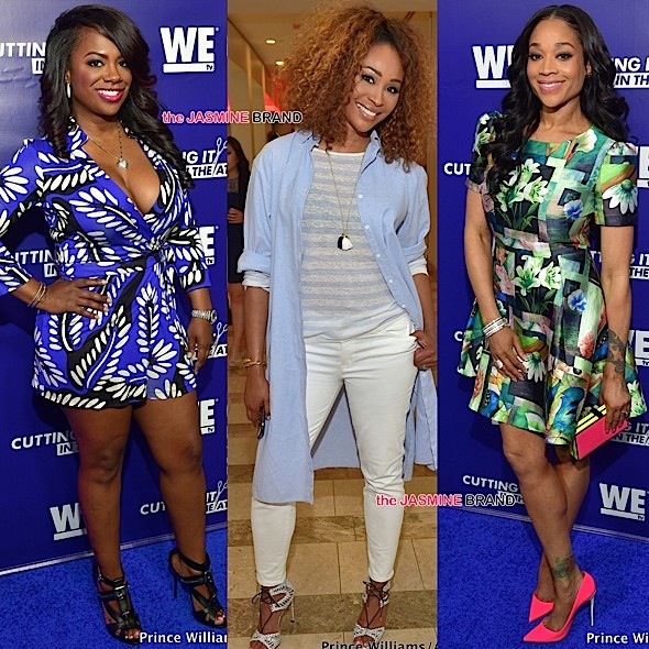 "WE tv's ""Cutting It: In the ATL"" Premiere: Kandi Burruss, Claudia Jordan, Cynthia Bailey, Mimi Faust, D. Woods, Egypt Sherrod Attend [Photos]"