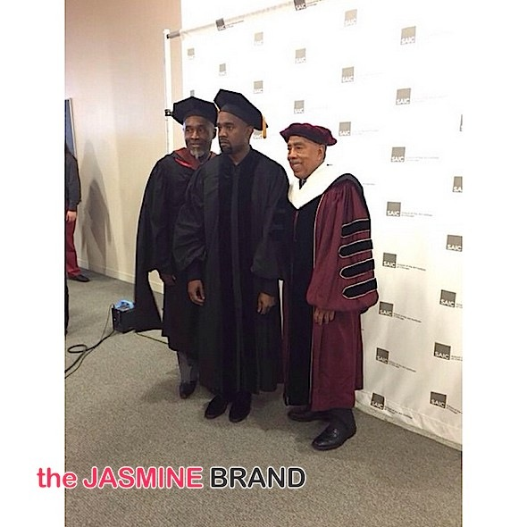 kanye west-receives honorary doctoray-chicago-the jasmine brand