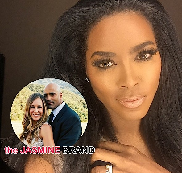 Wife of Kenya Moore's Secretly Married Boyfriend Speaks Out: Kenya KNEW James was married! + More Details!