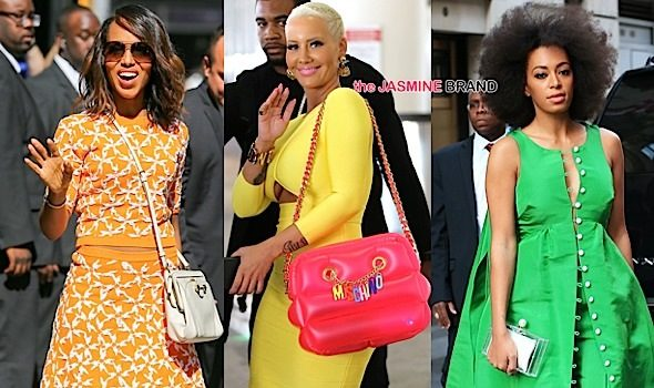 Celebrity Stalking: Amber Rose, Kerry Washington, Solange Knowles, Raven Symone, Morgan Freeman DJ Ace [Photos]