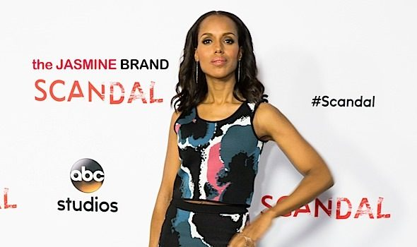 Scandal Cast Attends ATAS Event: Kerry Washington, Scott Foley, Darby Stanchfield, Guillermo Diaz & More [Photos]