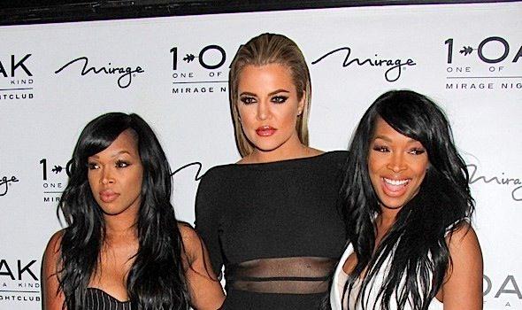 Khloe Kardashian, Khadijah Haqq & Malika Haqq Pop-Up At 1Oak [Photos]