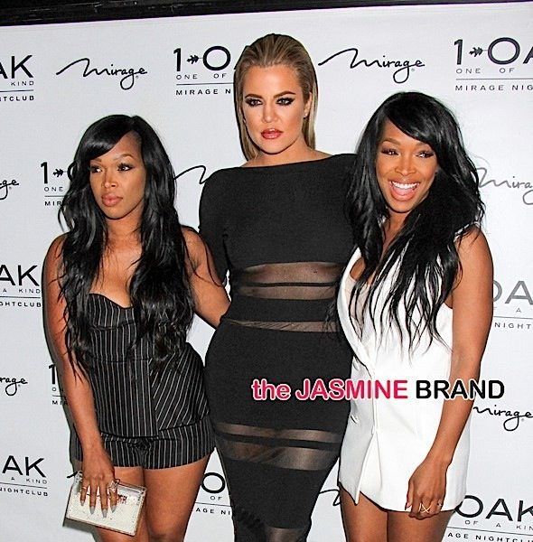 Khloe Kardashian, Khadijah Haqq & Malika Haqq Pop-Up At 1Oak [Photos]