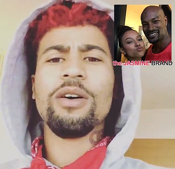 (UPDATED) Chris Brown's Rapper Kid Red Threatens Tyson Beckford Over Karrueche [VIDEO]