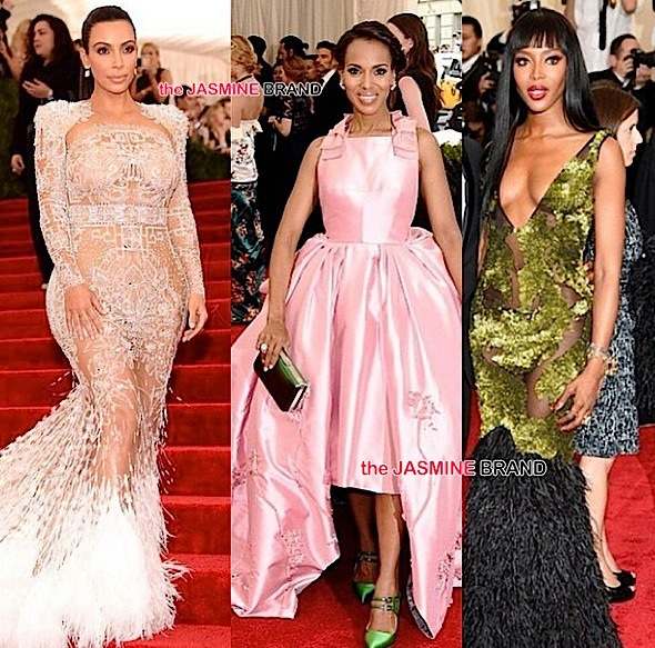 Kim Kardashian, Kerry Washington, Naomi Campbell