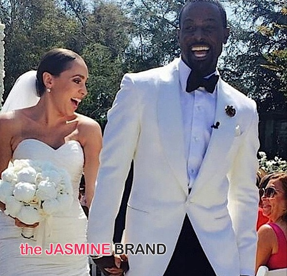 lance gross marries rebecca jefferson-the jasmine brand