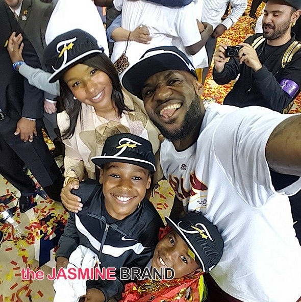 Celebrity Stalking: Savannah & LeBron James, Lenny Kravitz, Chris Tucker, Christina Milian, Teyana Taylor & Iman Shumpert, Dwayne Johnson, Eva Marie, Karrueche [Photos]