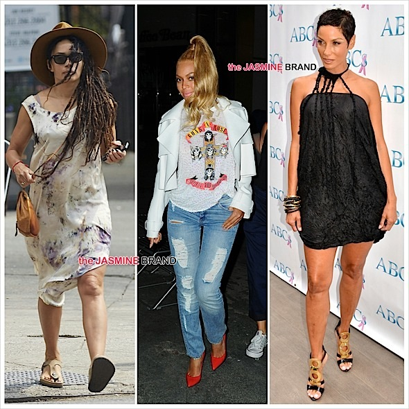 Celebrity Stalking: Beyonce, Lisa Bonet, Nicole Murphy, Naya Rivera, Anika Rose, Chandra Wilson [Photos]