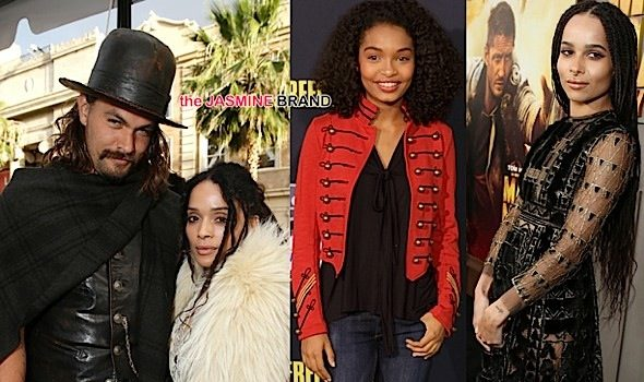 Celebrity Stalking: Lisa Bonet & Husband Jason Momoa, Zoe Kravitz, Ester Dean, Yara Shahidi [Photos]