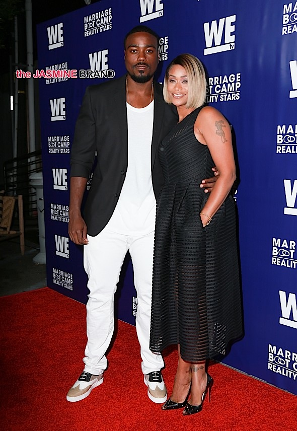 Celebrities arrive at the WE TV's 'Marriage Bootcamp Reality Stars' premiere party