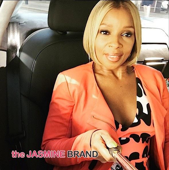 mary j blige selfie stick-the jasmine brand
