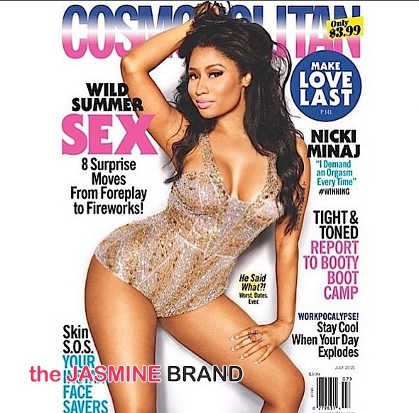 Nicki Minaj Requires An Orgasm: I think women should demand that! + See Her Cosmo Cover [Photo]