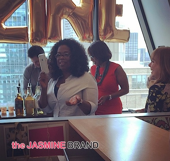 oprah winfrey-gayle king-celebrate o magazine-the jasmine brand